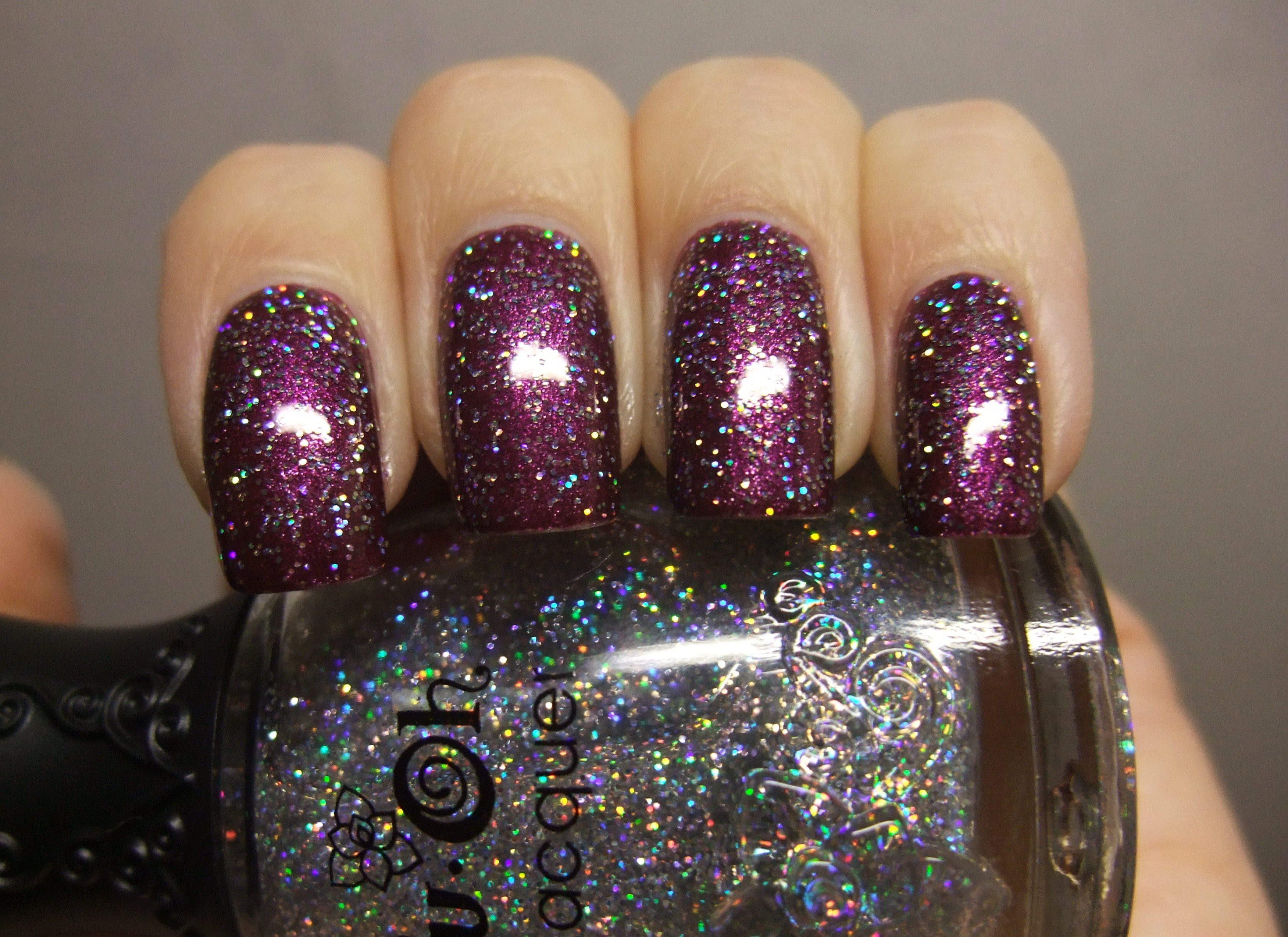 Nfu Oh Gs04 Glitter Series Silver Grey Holo