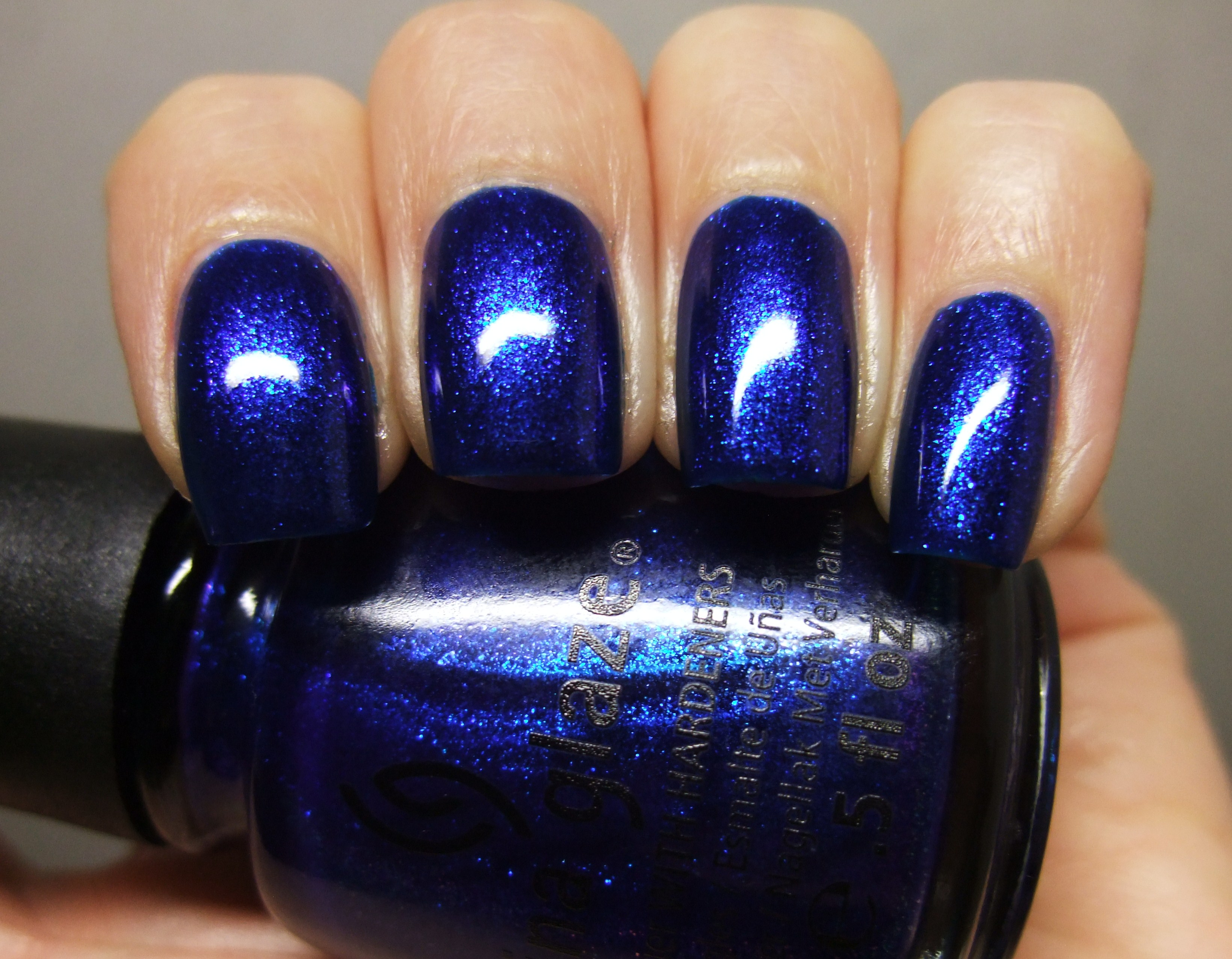 china glaze – blue year's eve | clawsincolors