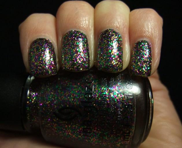 China Glaze - Glitter All The Way 08