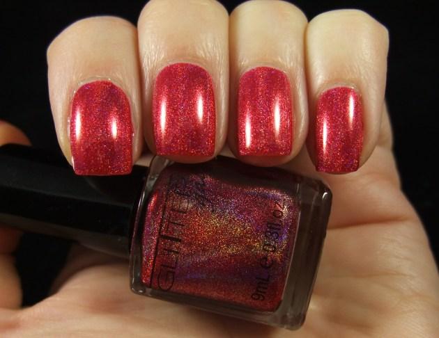 Glitter Gal - Red 02