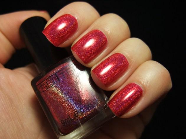 Glitter Gal - Red 03