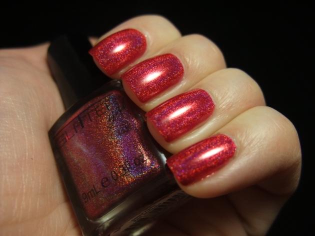 Glitter Gal - Red 08