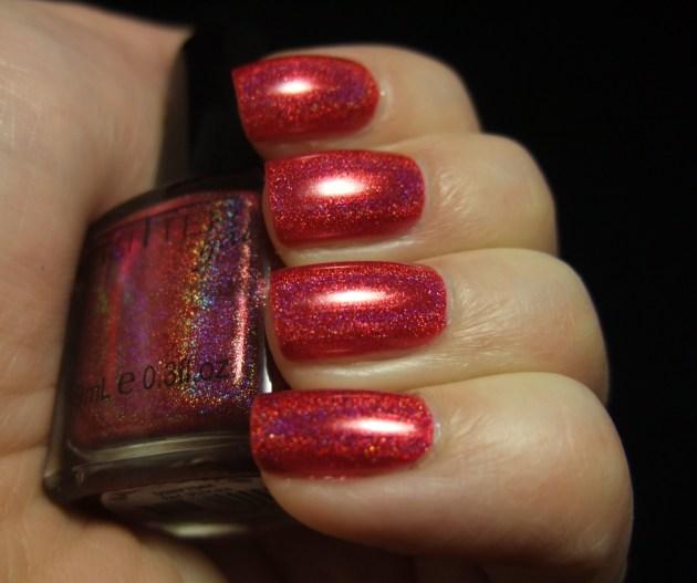 Glitter Gal - Red 09