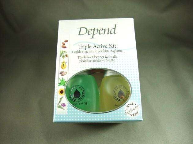 Depend Triple Active Kit