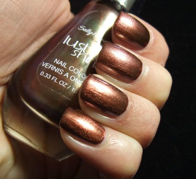 Sally Hansen Lustre Shine - Copperhead 02
