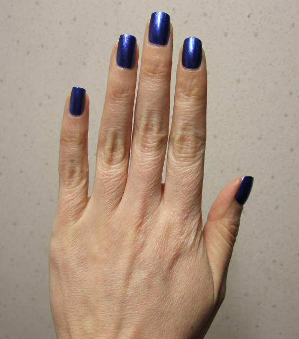 China Glaze - Blue Bells Ring 07