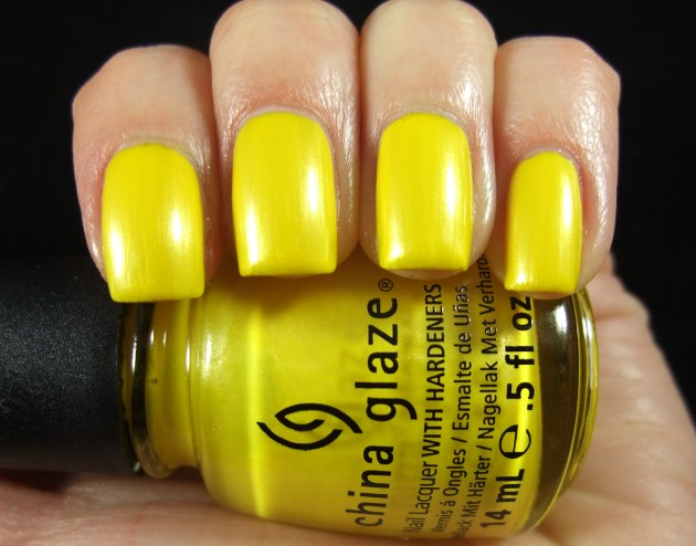 China Glaze - Sunshine Pop 01