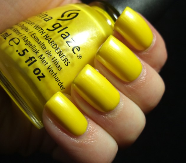 China Glaze - Sunshine Pop 03