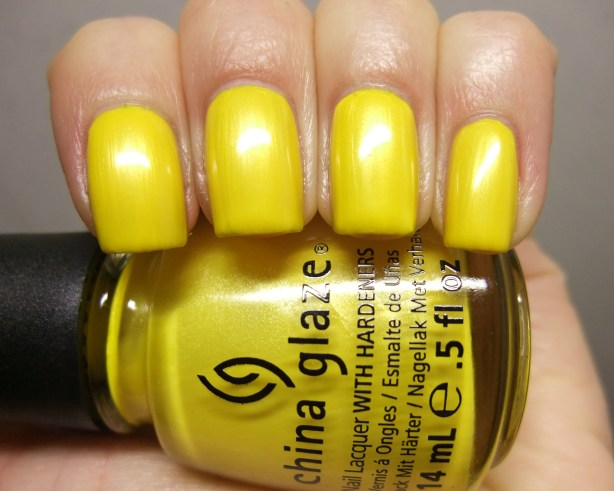 China Glaze - Sunshine Pop 05