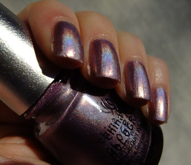 China Glaze - Get Outta My Space 01