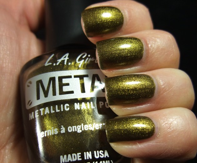 L.A. Girl Metal - Antique Gold 02