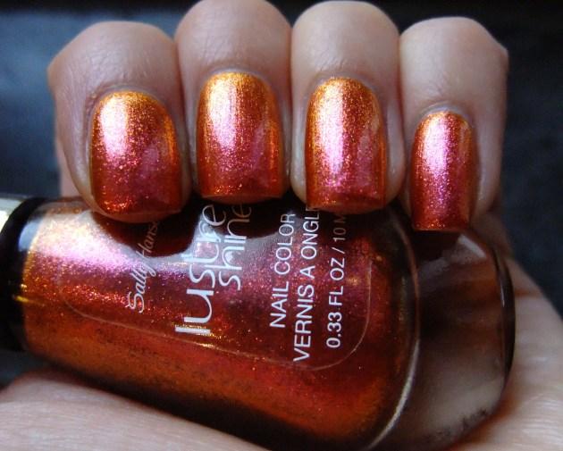 Sally Hansen Lustre Shine - Lava 03
