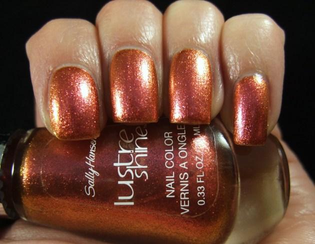 Sally Hansen Lustre Shine - Lava 08