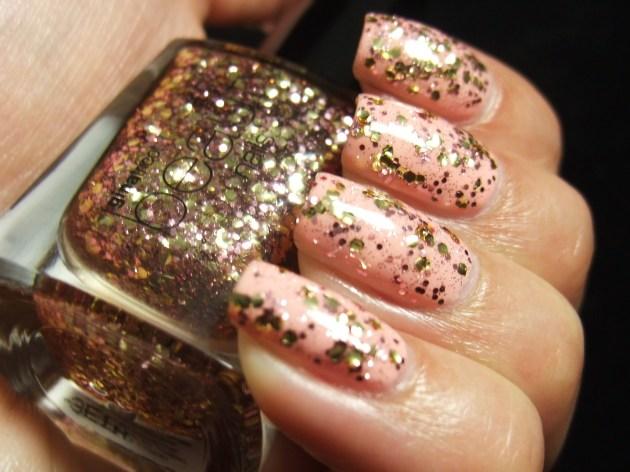Gina Tricot - Rose Glitter 04