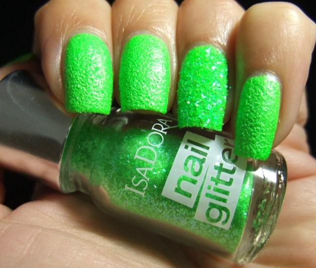 IsaDora Nail Glitter - Green Gecko 01