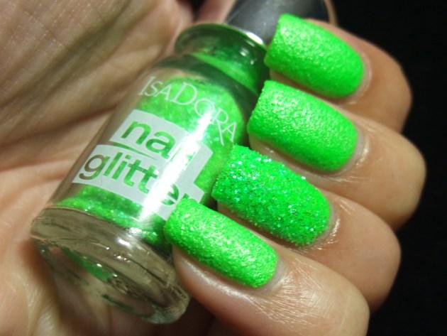 IsaDora Nail Glitter - Green Gecko 03