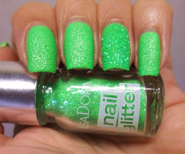 IsaDora Nail Glitter - Green Gecko 05