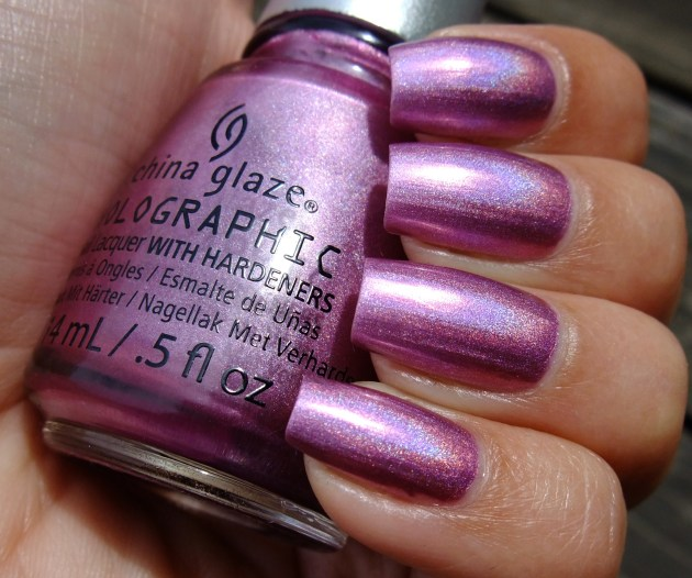 China Glaze - Astro-Hot 01