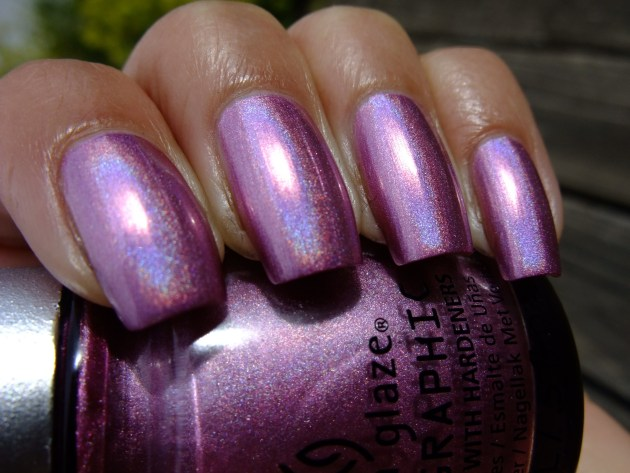 China Glaze - Astro-Hot 03
