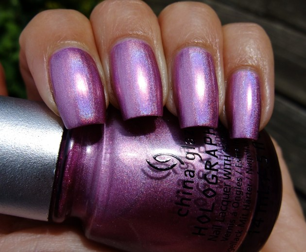 China Glaze - Astro-Hot 11