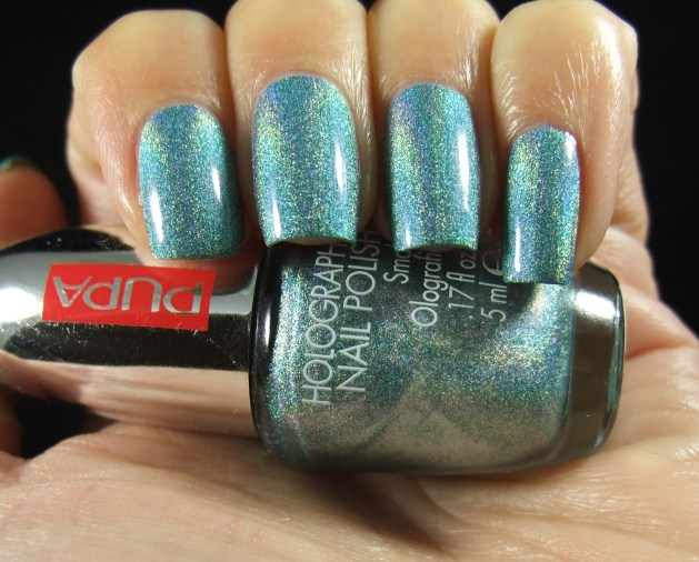 Pupa - 032 Holographic Emerald 01