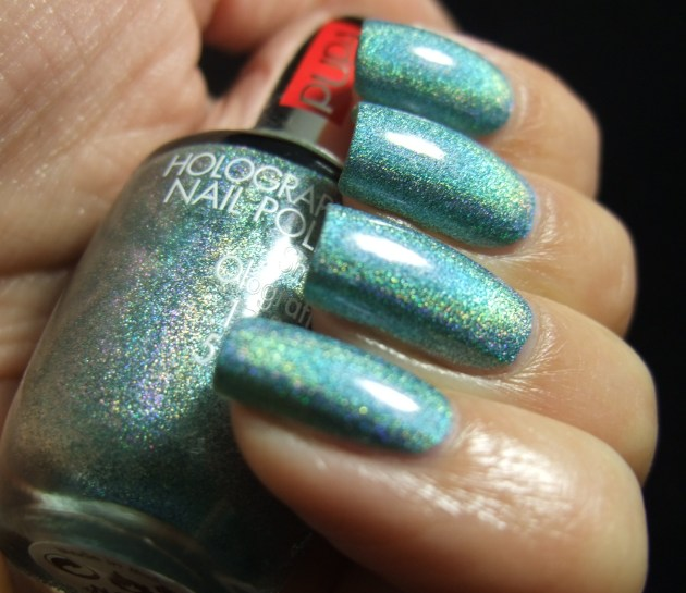 Pupa - 032 Holographic Emerald 03