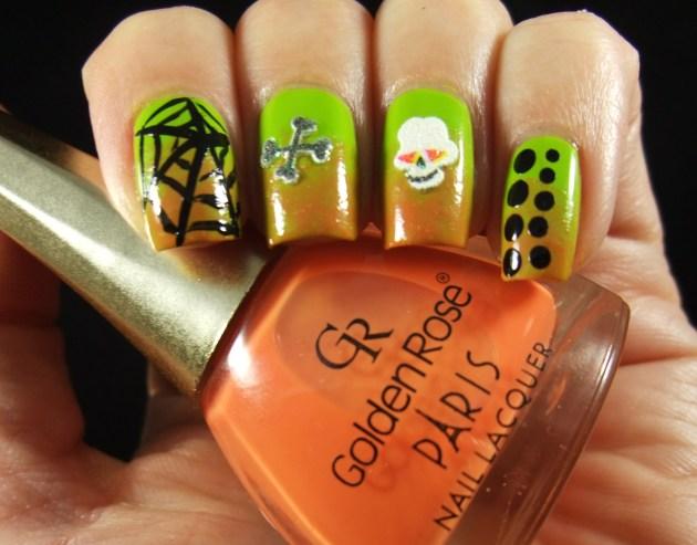 Nail Art Sunday Halloween 2013 01