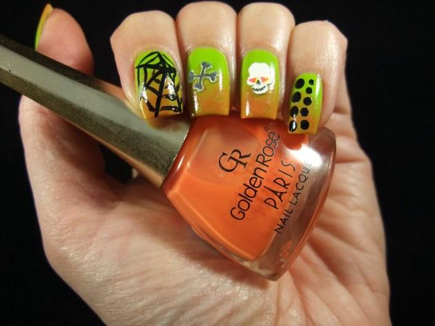 Nail Art Sunday Halloween 2013 02