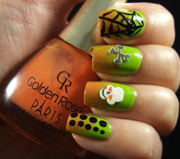 Nail Art Sunday Halloween 2013 03