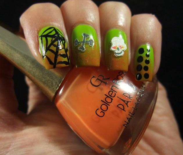 Nail Art Sunday Halloween 2013 04
