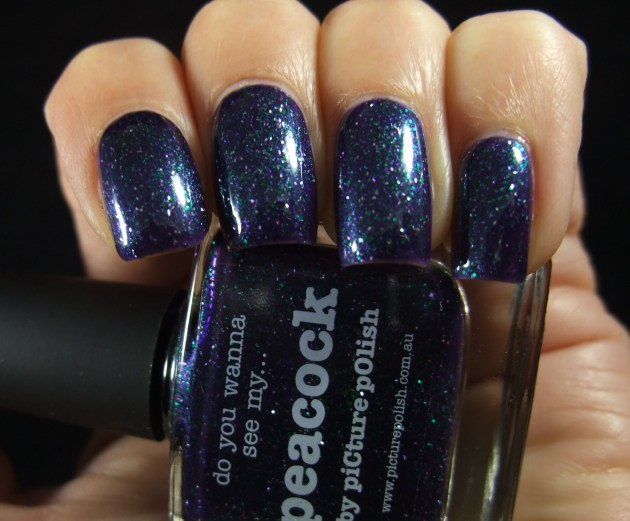 piCture pOlish - Peacock 02