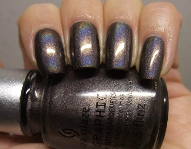 China Glaze - Galactic Gray 07