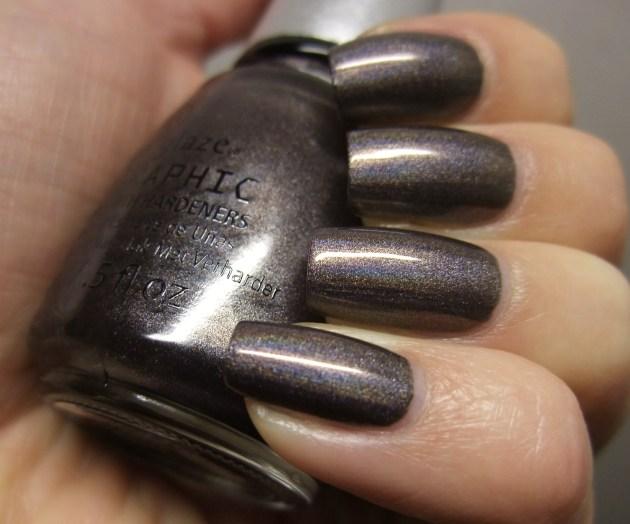 China Glaze - Galactic Gray 08