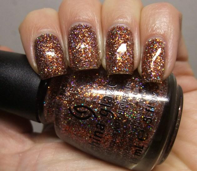 China Glaze - Glitter Goblin 08
