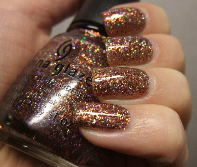 China Glaze - Glitter Goblin 10