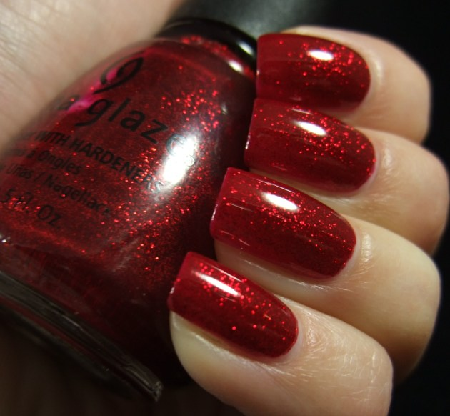 China Glaze - Ruby Pumps 08
