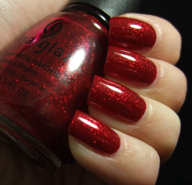 China Glaze - Ruby Pumps 09