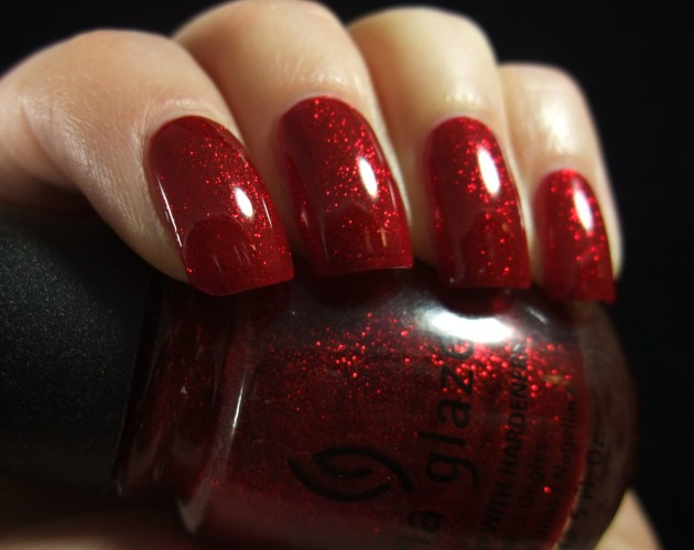 China Glaze - Ruby Pumps 10