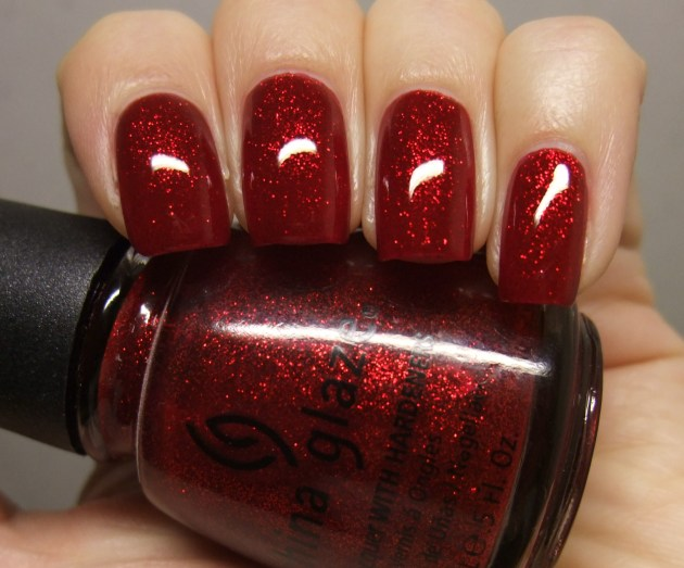 China Glaze - Ruby Pumps 13