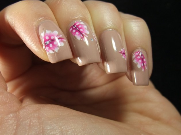 Pink Feather Water Decals 02