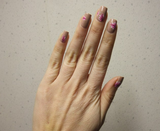 Pink Feather Water Decals 07