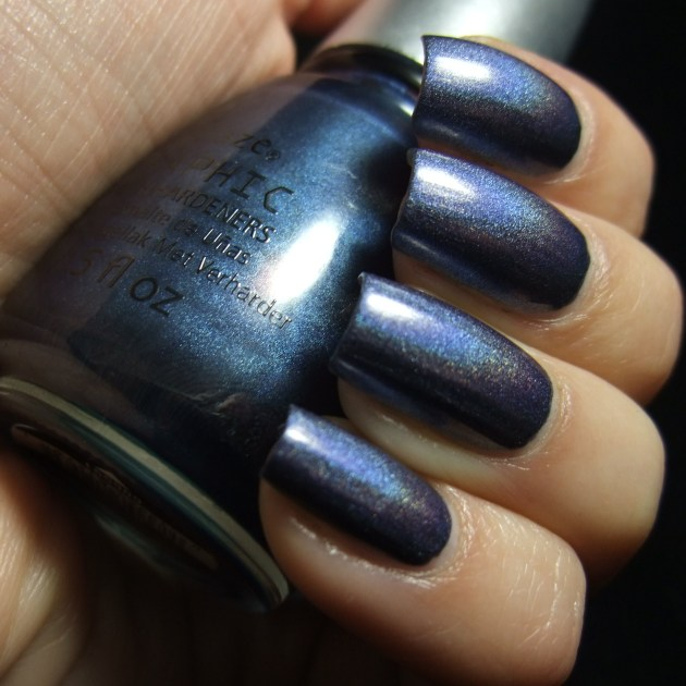 China Glaze - Strap On Your Moonboots 06