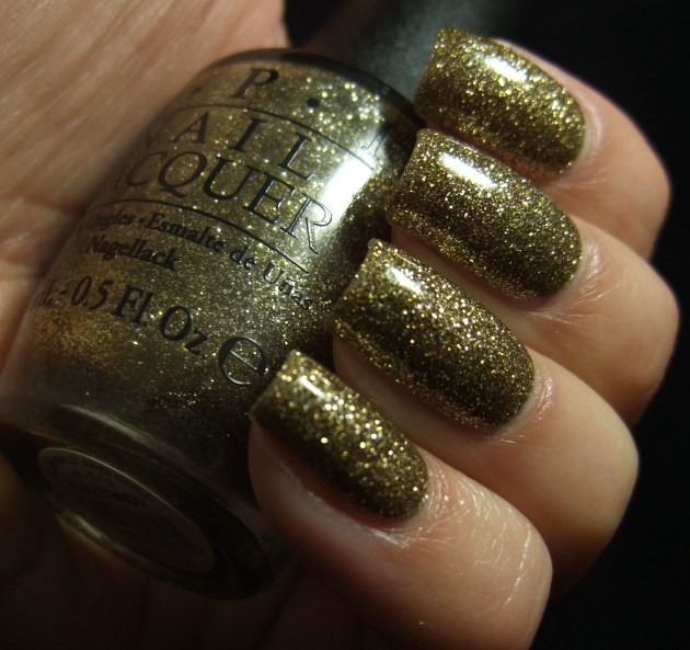 OPI - All Sparkly And Gold 04