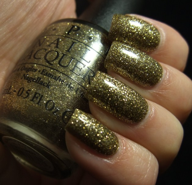 OPI - All Sparkly And Gold 05