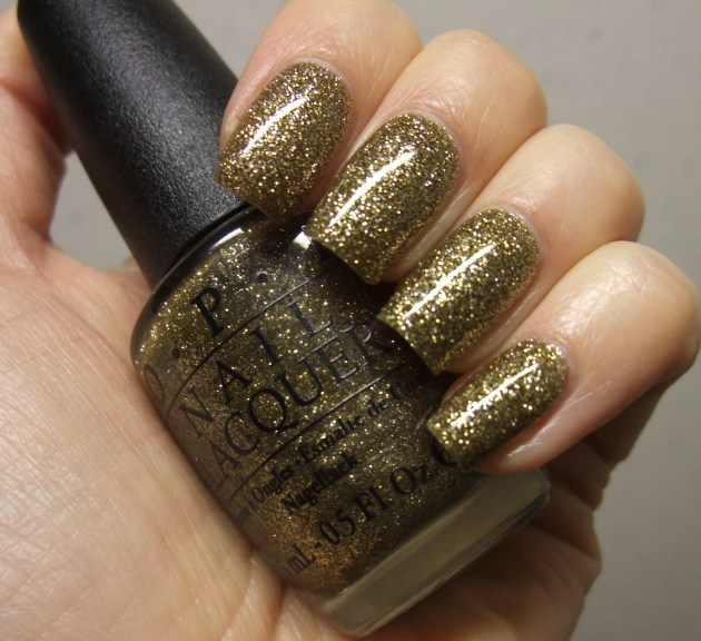 OPI - All Sparkly And Gold 08