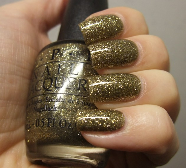 OPI - All Sparkly And Gold 09
