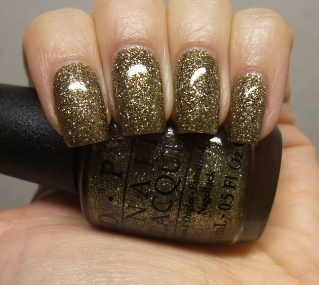 OPI - All Sparkly And Gold 10