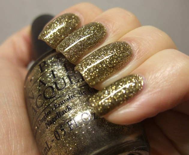 OPI - All Sparkly And Gold 11