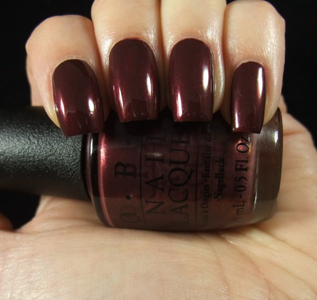 OPI - Sleigh Ride For Two 06
