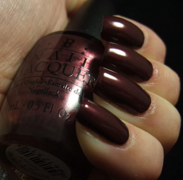 OPI - Sleigh Ride For Two 07